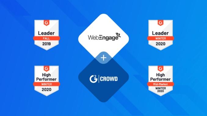 WebEngage की G2 की शीतकालीन 2020 रिपोर्ट में भारत की शीर्ष 25 सॉफ्टवेयर कंपनियों में शामिल - Business News Digpu